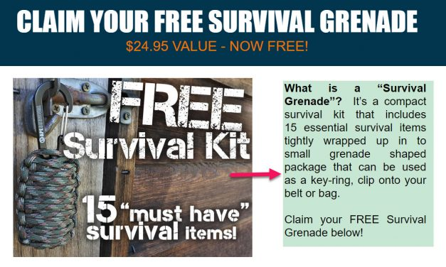 Free Survival Grenade a compact kit